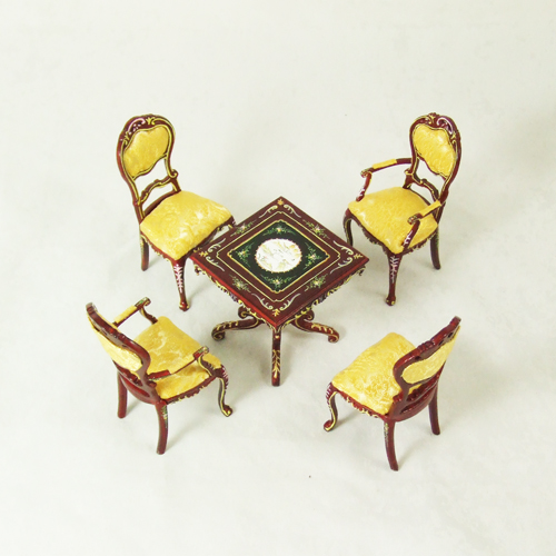 8018 Hansson Mahogany Dining Room Set 5 pieces
