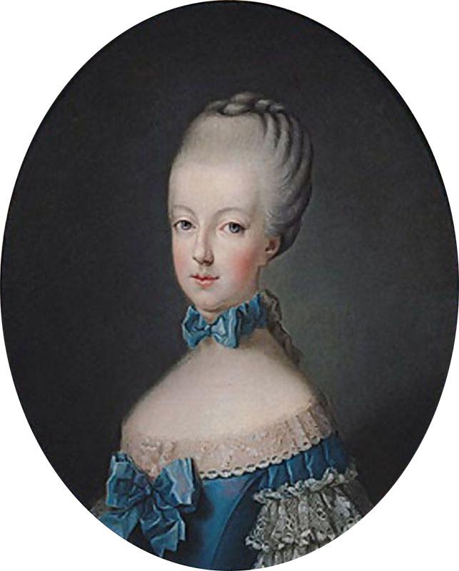 Portrait of Marie-Antoinette - by Joseph Ducreux - $12.80 : Hanamini.com,  Dollhouse Miniatures