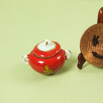 Collectible Red COOKIE JAR - EP 05016