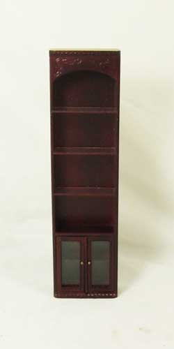 R8021 - Mahogany Tall Collections Shelf Cabinet